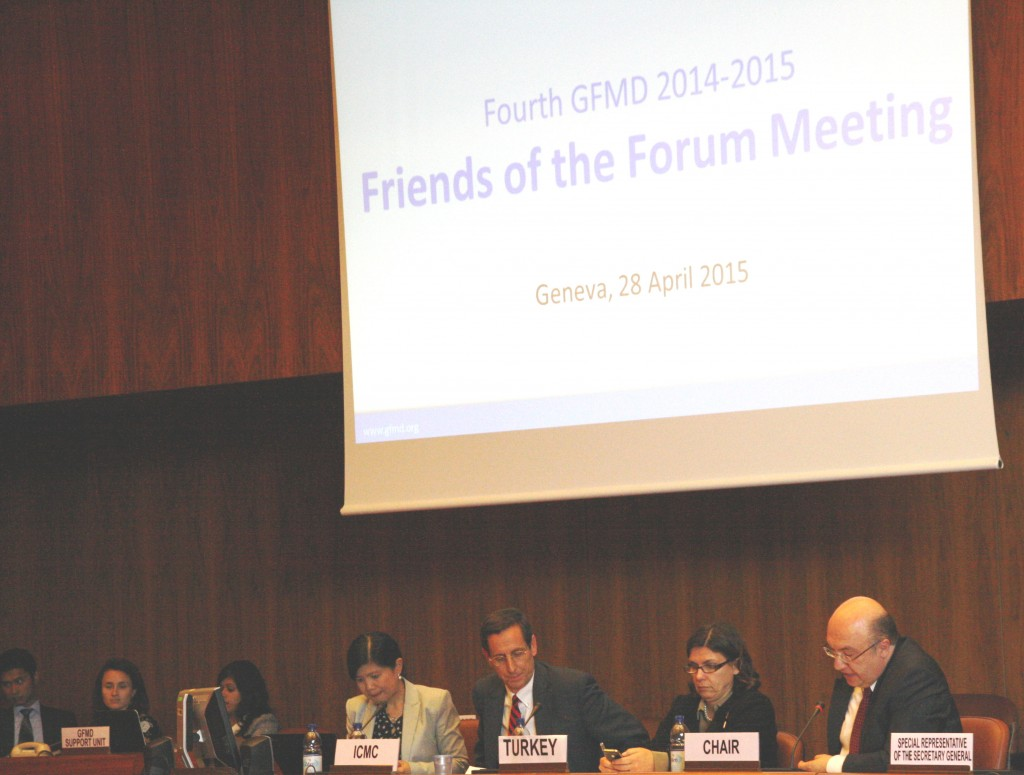 4th Friends of the Forum meeting in Geneva