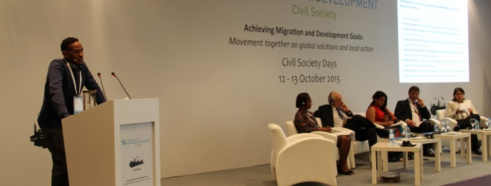 The Solution is Rights: Civil society gathers at high-level migration meeting in Istanbul